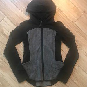 Ivivva x Lululemon fill-zip hooded jacket